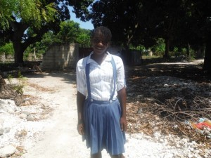 LUDMIA IS 17, VERY INTELLEGENT AND WANTS TO BECOME A DOCTOR. SHE BELEIVES GOD IS MAKING A WAY FOR HER RIGHT NOW.