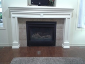 PILLARS AND MANTEL